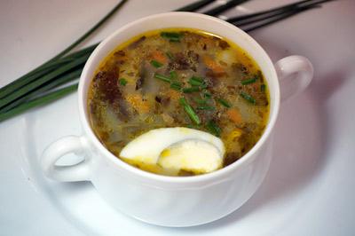 Суп грибной из замороженных шампиньонов рецепт с пошагово 195